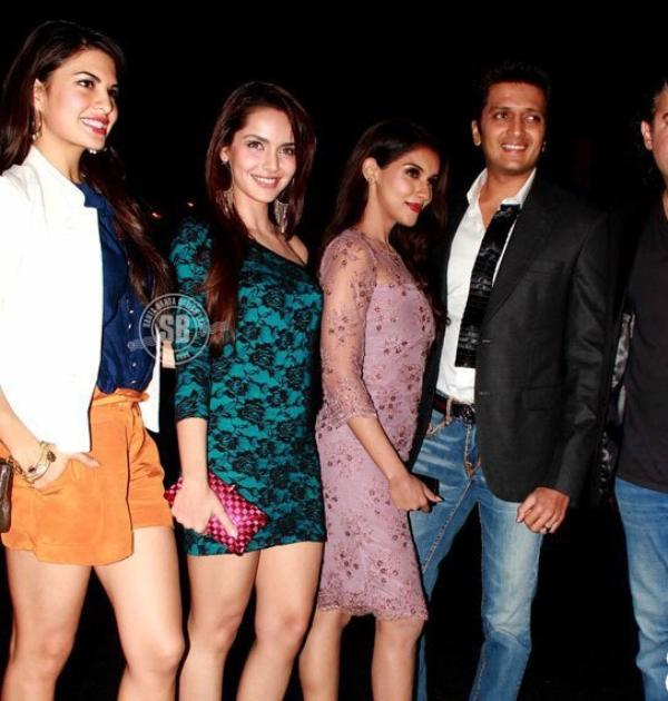 Housefull 2 cast at the Audi TT launch event