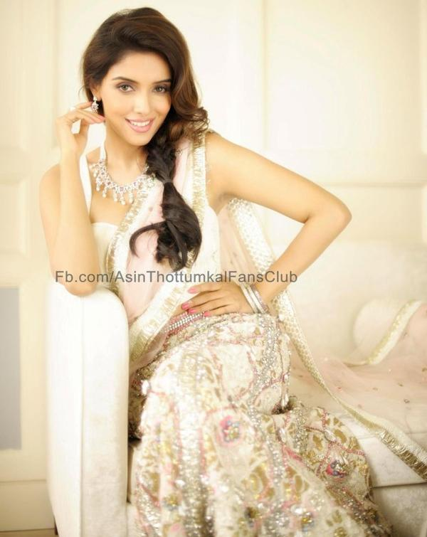 Asin on the cover of The Hindu Bridal Mantra