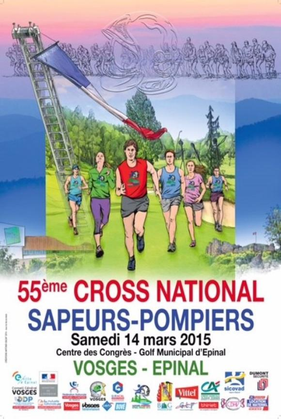 CROSS NATIONAL SAPEURS-POMPIERS 2015 EPINAL