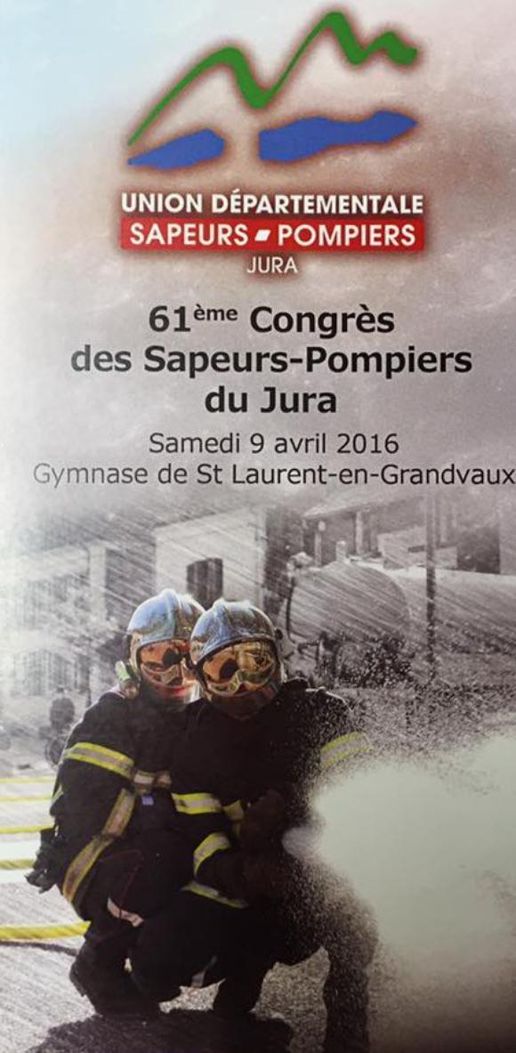 CONGRES UDSP 39 ST LAURENT-EN-GRANDVAUX