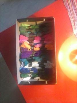 Mes bracelets brésilien fait-main :)