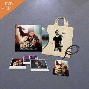 Pack Collector DVD + CD Ensemble Le Live