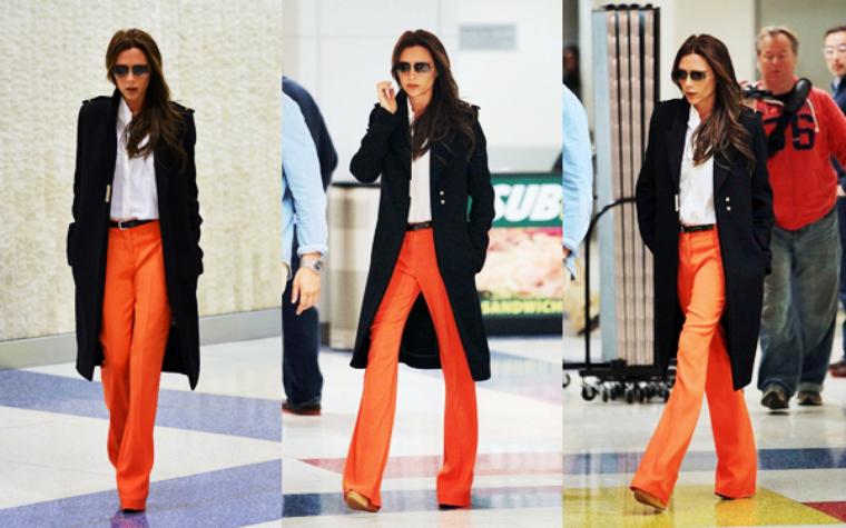 04 MAI 2013 : Victoria Beckham est allée déjeuner à l ...
