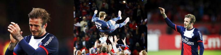 David Beckham prend sa retraite à la fin de la saison !