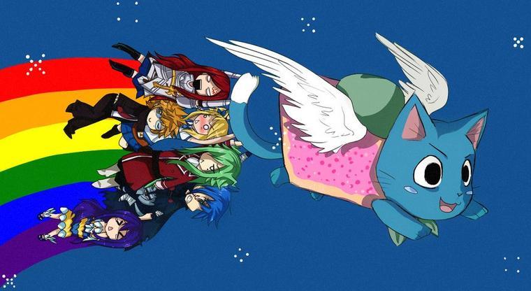 Nyan cat révisité !! #Kawaii