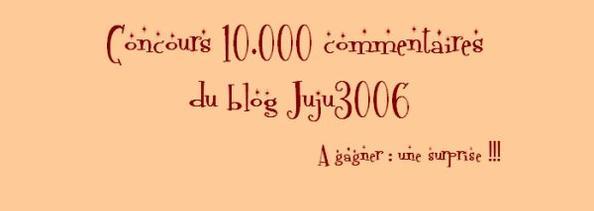 ~ Concours des 10.000 commentaires  ~