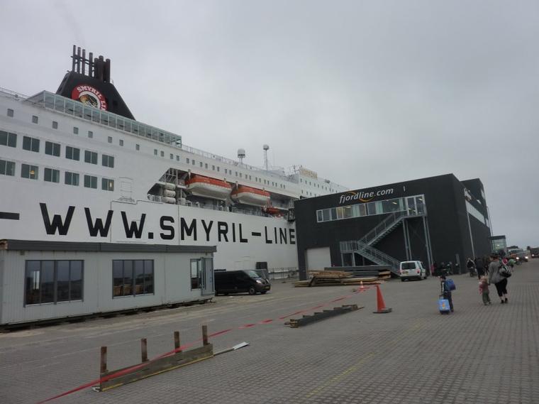 La montée vers Hirstshals au bout du bout du Danemark