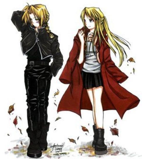 ♥ Edward et Winry ♥
