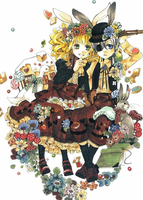 ♥ Ciel et Lizzy ♥