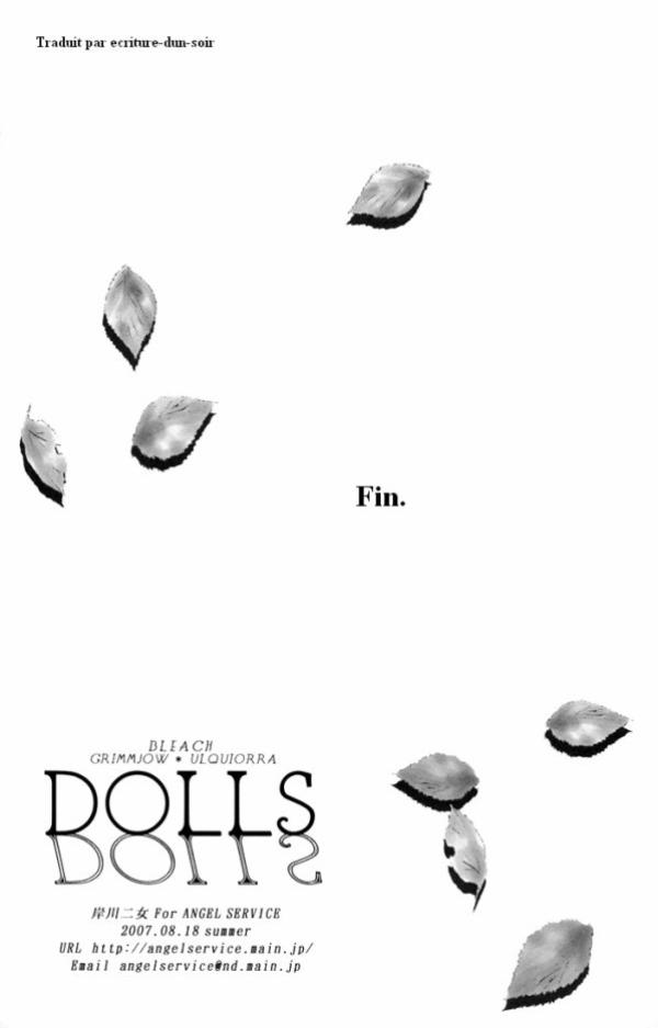 ♥ Doujinshi Bleach-> Dolls Fin ♥