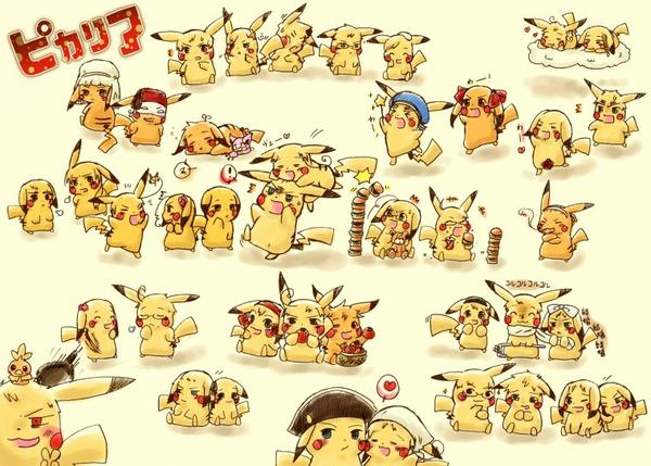 ♥ Pikachu Hetalia! ♥