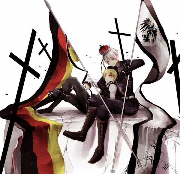 ♥ Ludwig (Allemagne) et Gilbert (Prusse) ♥