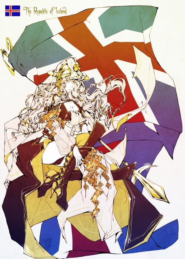 ♥ Les Républiques et Royaumes Nordiques au féminin  ♥