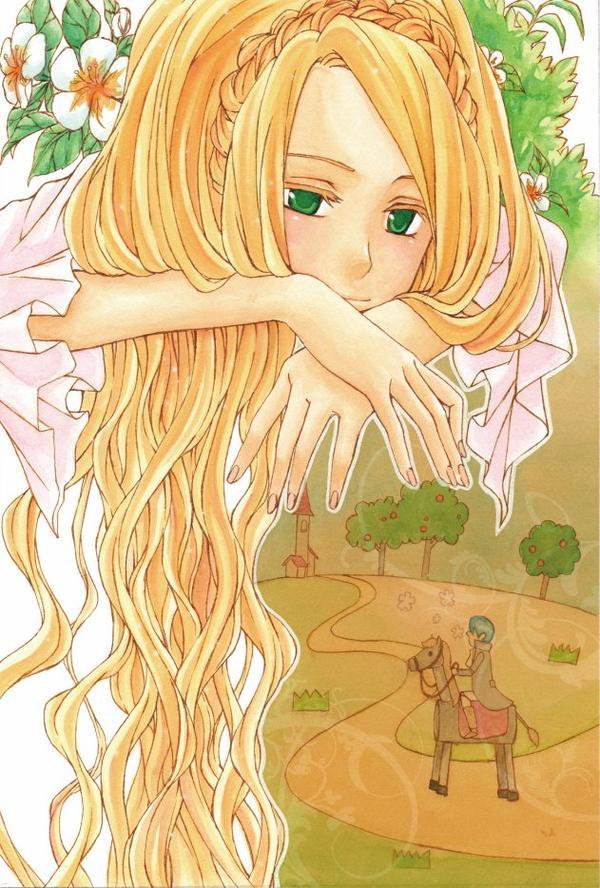 ♥ Raiponce, Raiponce, dénoue tes cheveux ♥