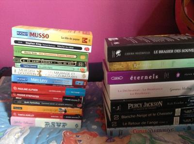 Ma PAL : pile de livres à lire!