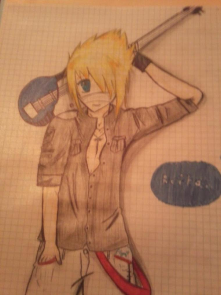 reita of the gazette