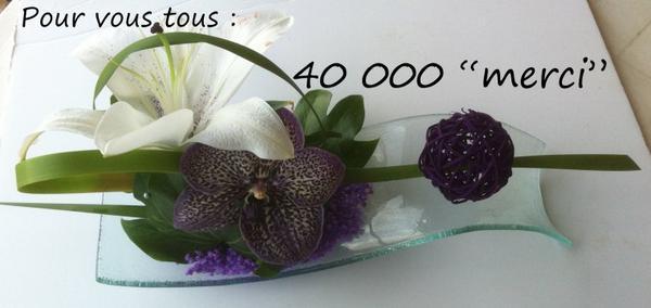 40 000 visites