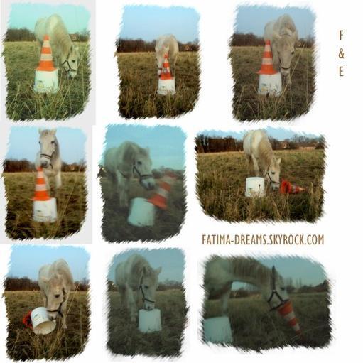 Montage photo avec le cône =)