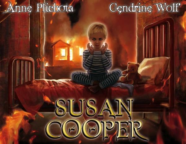 Susan Hopper, tome 1, Le Parfum Perdu, la nouvelle saga de Anne Plichota et Cendrine Wolf