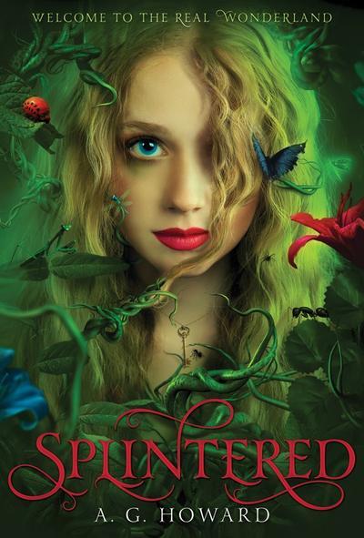 Le Trailer de Splintered, Tome 1 de A.G. Howard