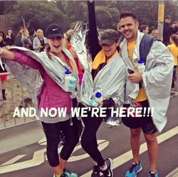 Shay Mitchell au marathon : Nike women's Marathon