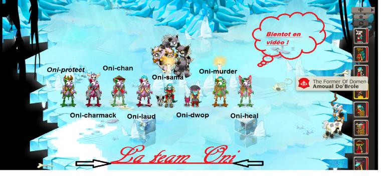 La team-oni !