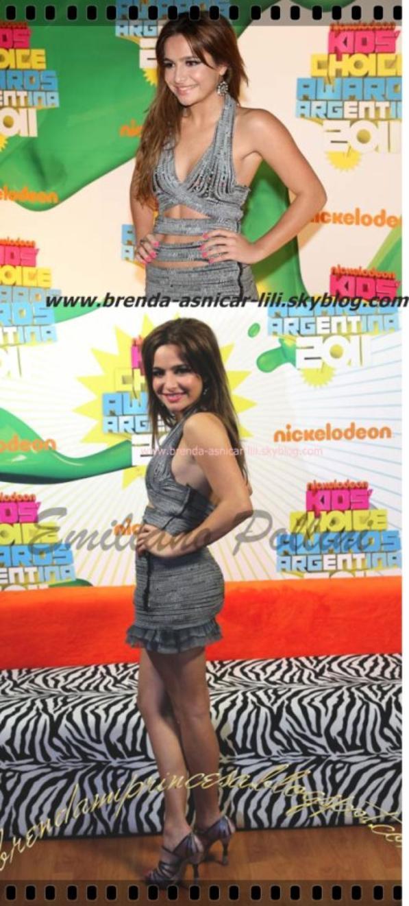 Brenda Asnicar le KCA (Choice Awards enfants!)