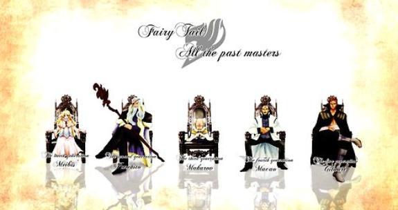 les maitres de fairy tail