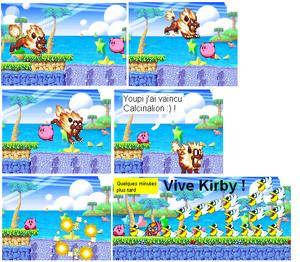 Kirby sur les îles pélicans épisode 2 : Kirby contre Calcinalion