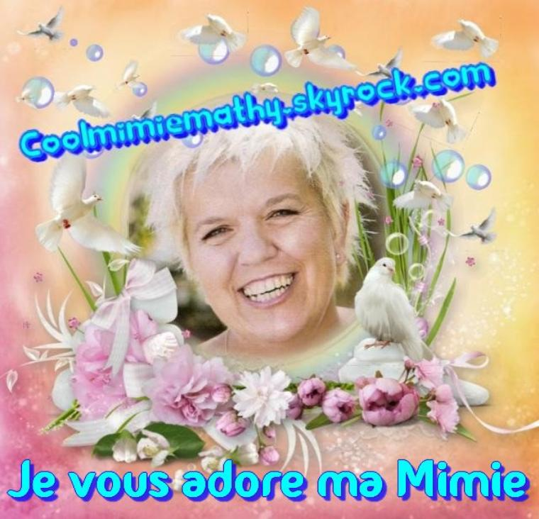 Article Blog Coolmimiemathy  Laisse une message à Mimie Mathy