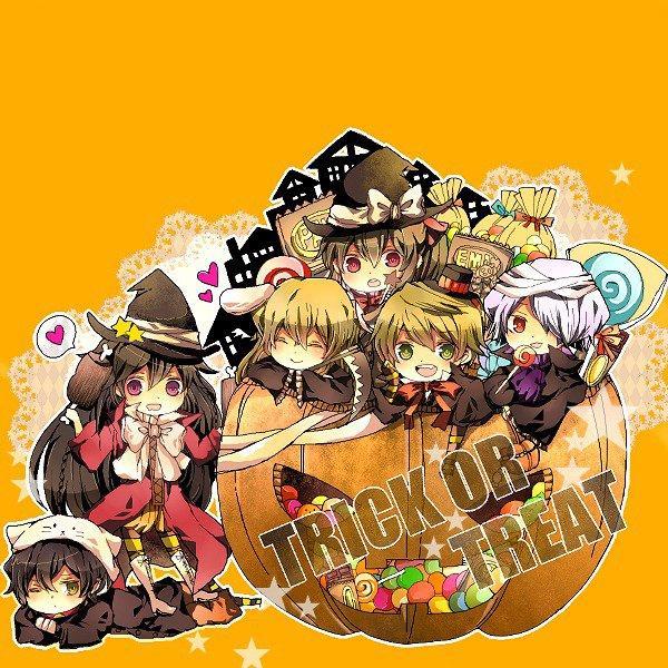 Vos perso préférés fêtent Halloween!! ( 2 )