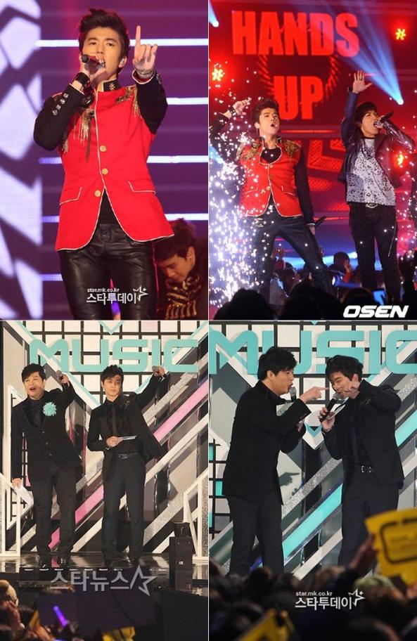 News du 03/02/2012 >  Performance de Hands Up au MBC music Festival + photos :