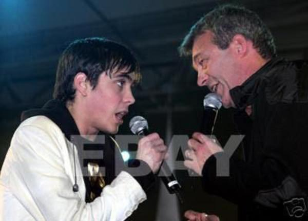 Grég et son Papa.