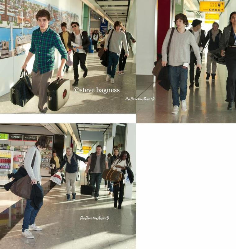 27 Jan 2012 : Les Boys ont été apreçu à l'aéroport + Pour Nos Amies Belges