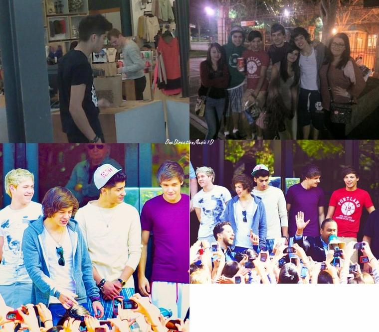 """Les garçons a LA - 29/01/11 + Les Boys sur le plateau de la série """"iCarly"""""""