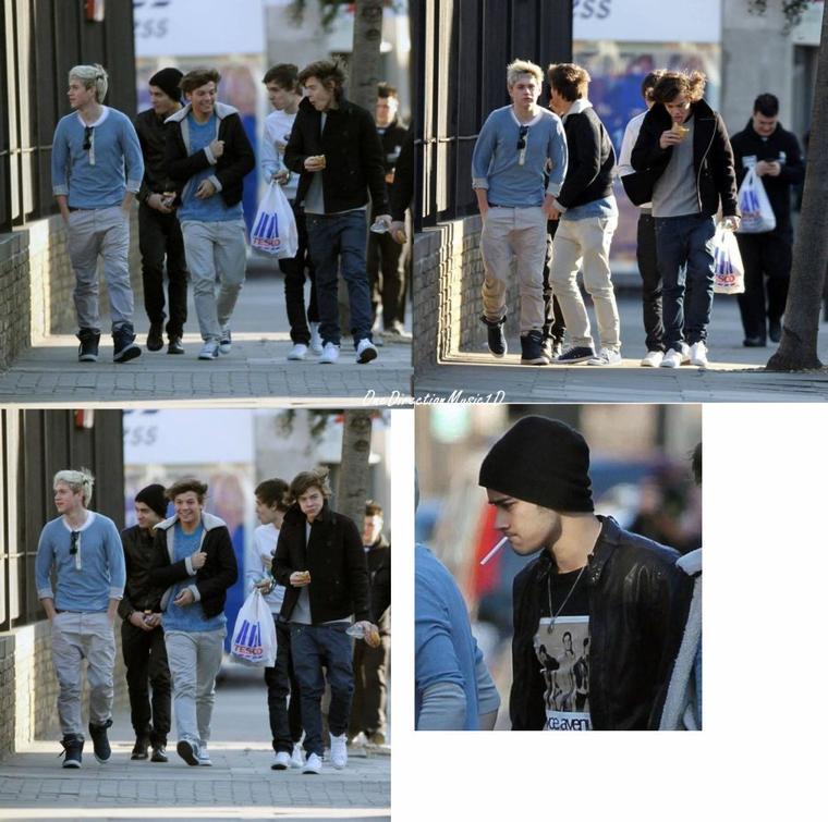 1D arrivée a Londres + Louis&Eleanor au Tesco + Hier avec Harry + NEWS+ Les Boys on vue Jessie J