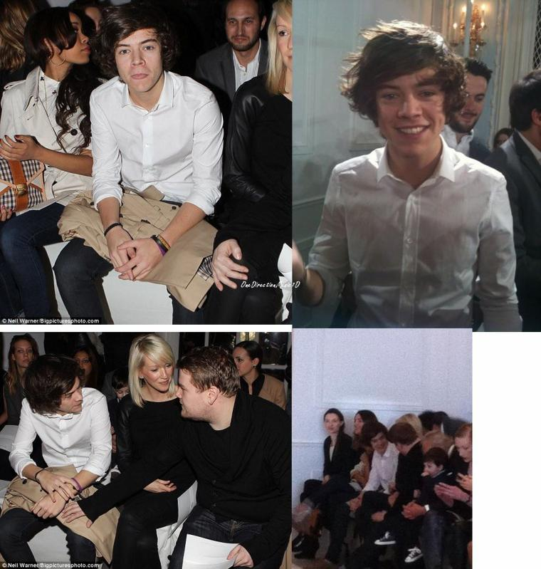 Harry à la Fashion Week de Londres - 18-02-12