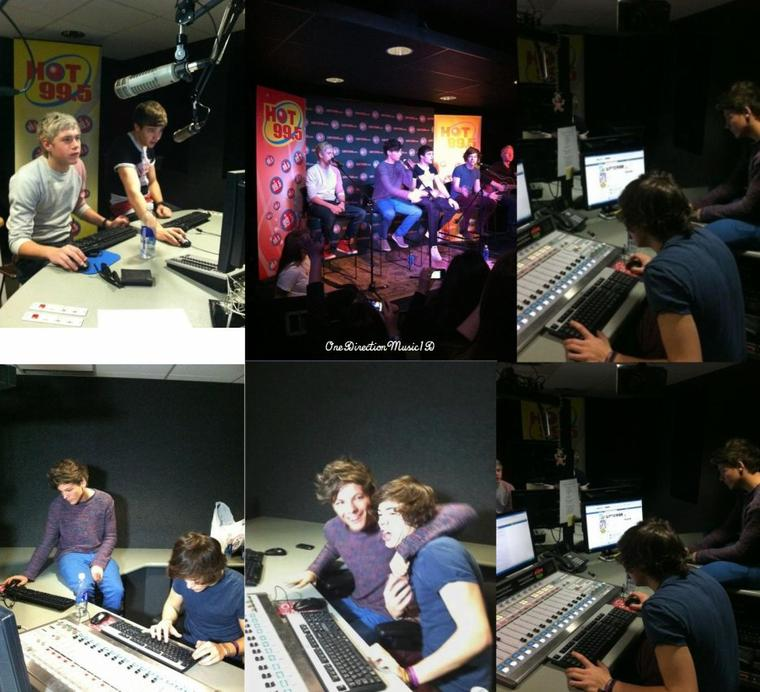 Entrevue pour la radio Kiss 93.4 dans le Mashantucket -01-03-2012 + Liam, Louis, Niall & Harry à Hot 99.5 hier +