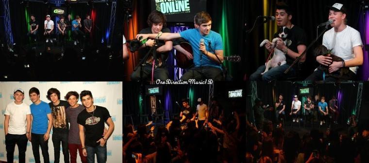 Les garçons sur Nickelodeon. + Le live à la radio Q102 en entier - 17-03-2012 + Visite de la radio Q105 - 17-03-2012 + Via Twitter