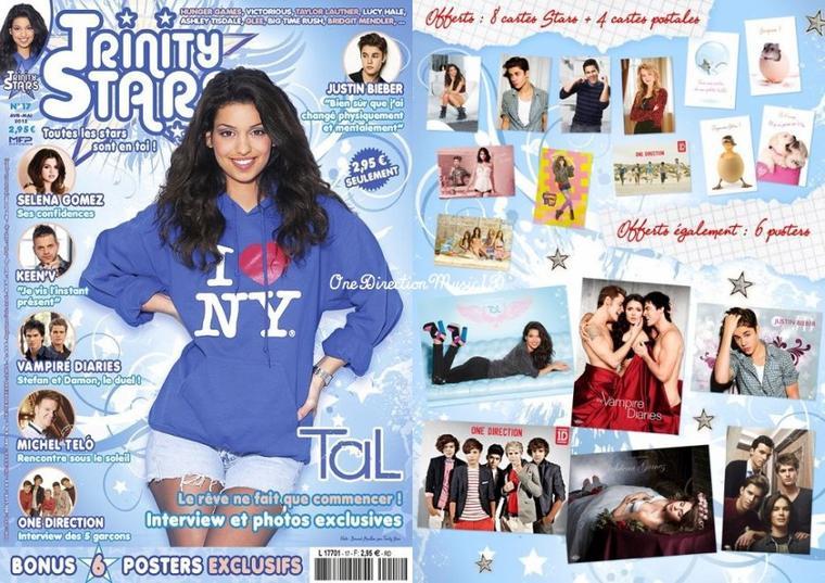 Louis et Eleanor à Los Angeles + Photoshoot USA +  Tiger Beat Magazine. + News / Rumeurs ...  + Photos coup de coeur de la Journée + Trinity Stars n°17, en vente ce samedi 7 avril