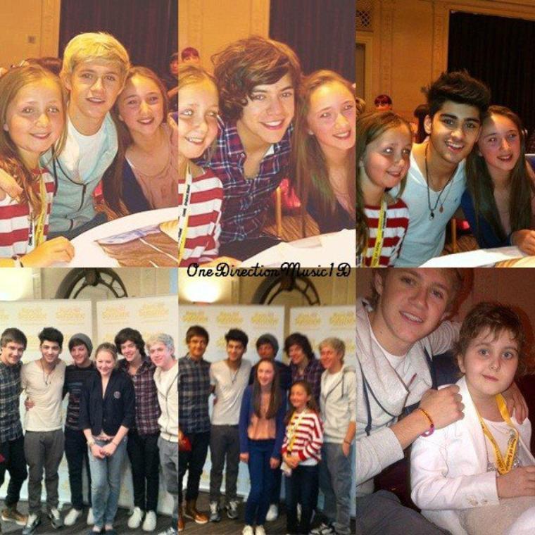 """Bébé Lux + La nouvelle voiture de Louis + Niall à Mullingar hier + Les garçons à l'association"""" Rays of Sunshine """"(09.05.12) + Zayn aujourd'hui + Harry hier, à une vente de meubles anciens.Apparemment Baby Lux était avec Harry + One Direction in America : épisode 6 +"""
