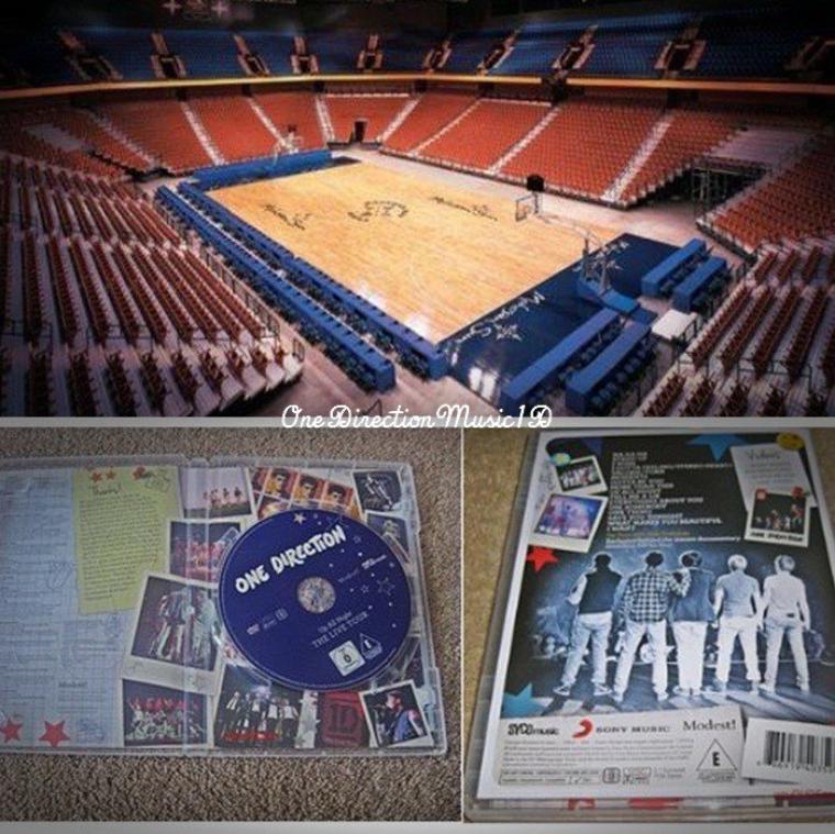 """Bébé Lux + La salle où les garçons jouent ce soir +L'intérieur et l'arrière du dvd. + La set list pour leur tournée nord américaine. + Apparemment ce serait les nouvelles chansons du second album des garçons + Liam qui fait du sport, hier. + Ed Sheeran chante """"Moments"""" + Les garçons aux USA 22.05 + News/Rumeurs ..."""