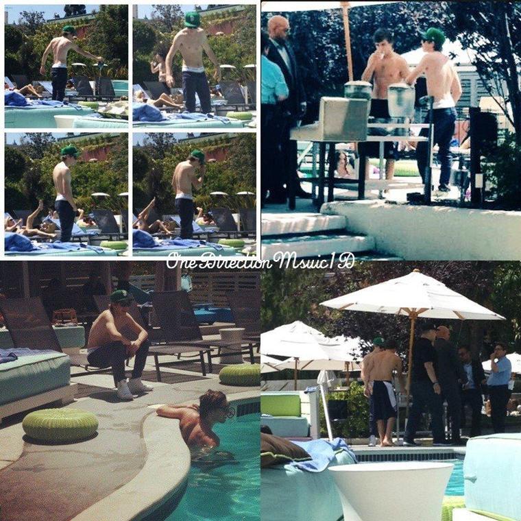 Concert à Anaheim (Californie) ; 17 juin 2012. + Zayn - Los Angeles. + Les garçons M&G - Los Angeles ; 17 juin 2012. +  Los Angeles ; 17 juin 2012. + Piscine de l'hôtel à Los Angeles ; 18 juin 2012. + Josh et une fan - Disney en Californie ; 18 juin 2012. + VIDÉO : TC de Liam ce hier matin + News / Rumeurs ...
