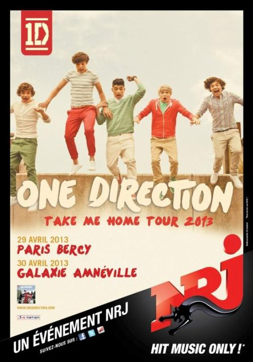 One Direction - Take me home tour 2013 - France