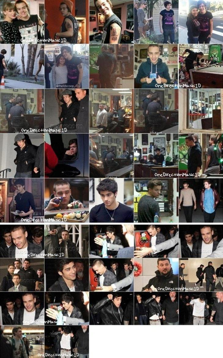 Fête d'anniversaire pour Louis à Cheshire - 14 Décembre 2012 + Photoshoot à River Thames - 17 Décembre 2012 + Les boys en UK - Décembre 2012 + Les boys à LAX aéroport à L.A - 18 Décembre 2012 + Les boys dans Kiss You + Les boys à X Factor Finale US à LA. - 20 Décembre 2012 + Les boys à LA - Décembre 2012 + Les boys sans Harry à LAX aroport à LA - 20 Décembre 2012 + Harry et Taylor à Utah, USA - 21 Décembre 2012 + Heathrow aéroport à Londres -21 Décembre 2012 + NEWS / RUMEURS / VIDÉO / LIENS ...
