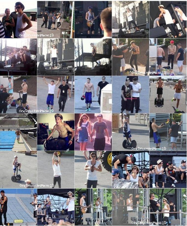 TMHT à Montreal, Canada - 4 Juillet 2013 + TMHT à Hershey, Pennsylvanie - 5 Juillet 2013 + TMHT à Hershey, Pennsylvanie - 6 Juillet 2013 + Les boys à Hershey, Pennsylvanie - 5 & 6 Juillet 2013 + Shooting pour Trekstock + Les boys à Pittsburgh, Pennsylvanie - 7 & 8 Juillet 2013 + TMHT à Pittsburgh, Pennsylvanie - 8 Juillet 2013 + NEWS / RUMEURS / VIDÉO ...