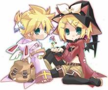 Kagamine Len et Kagamine Rin - Trick and Treat