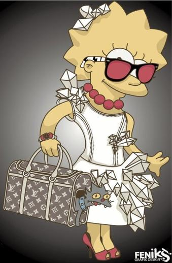 Lady Gaga chez les Simpsons