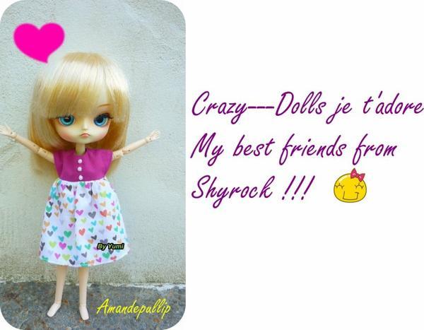 Encore pour toi Crazy---Dolls