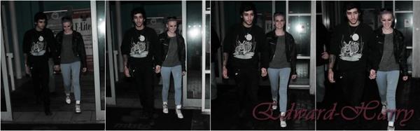 02.02 - Niall à été vue à Londres.